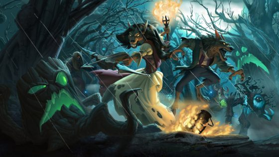 The final cards for Hearthstone's new expansion, The Witchwood, will be revealed today on the official Hearthstone Twitch.tv channel.