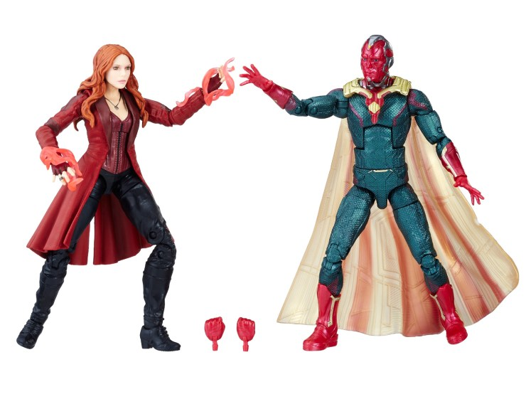 "New 6"" Marvel Legends Infinity War Store Exclusives and #HeroActs"
