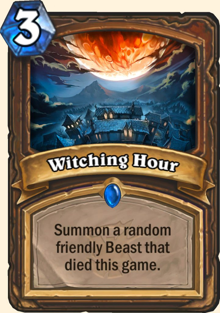 These two new Witchwood cards reveal two potentially big hindrances to aggro decks.