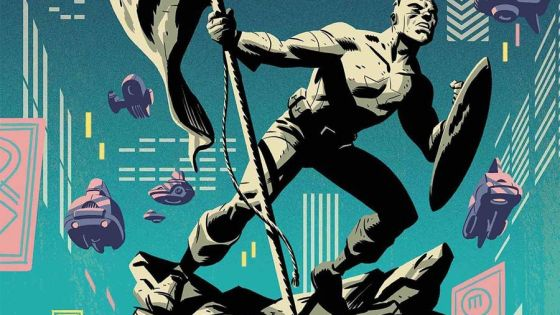 Solid sci-fi sensibilities are woven with the history of Captain America.