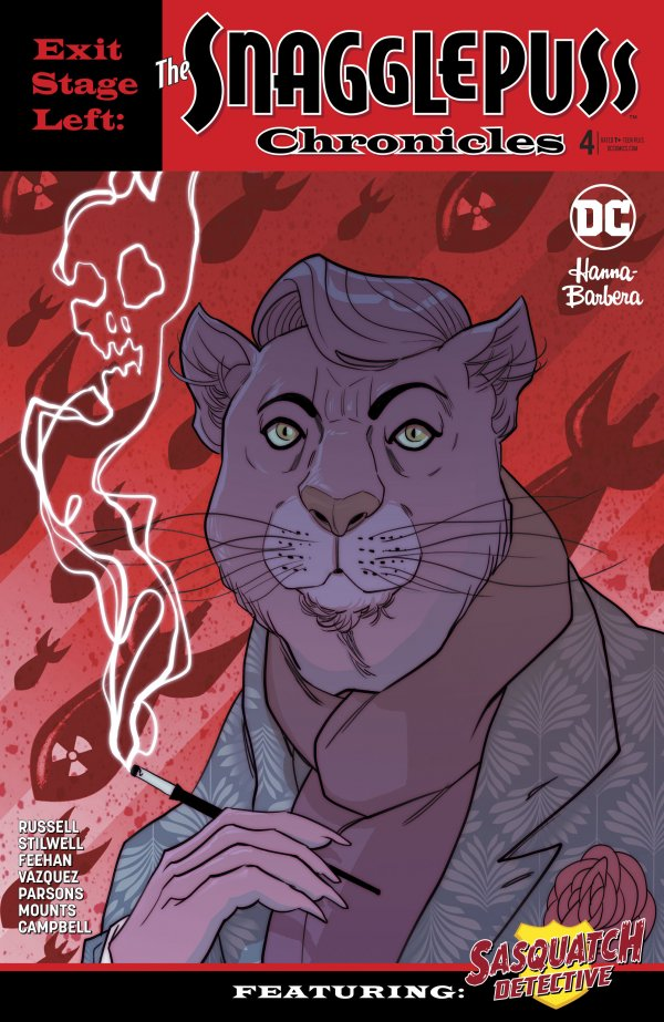 Exit Stage Left: The Snagglepuss Chronicles #4 Review
