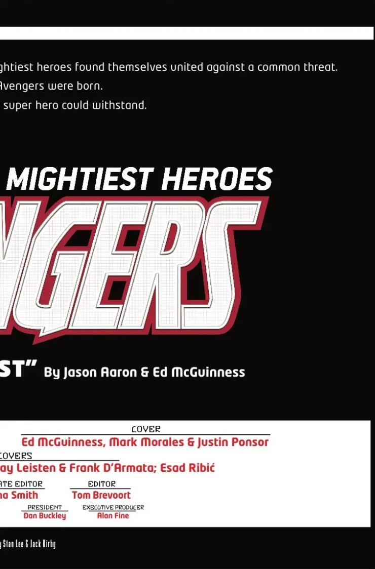 Marvel Preview: Avengers #1
