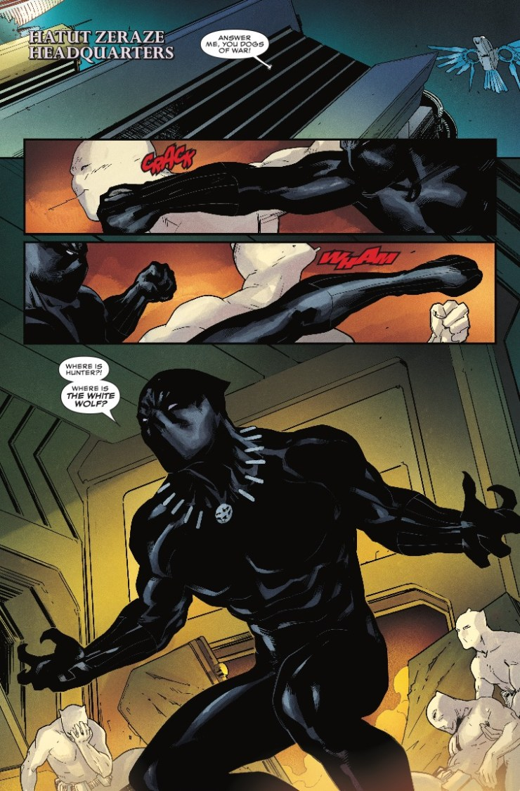 Marvel Preview: Rise of the Black Panther #5