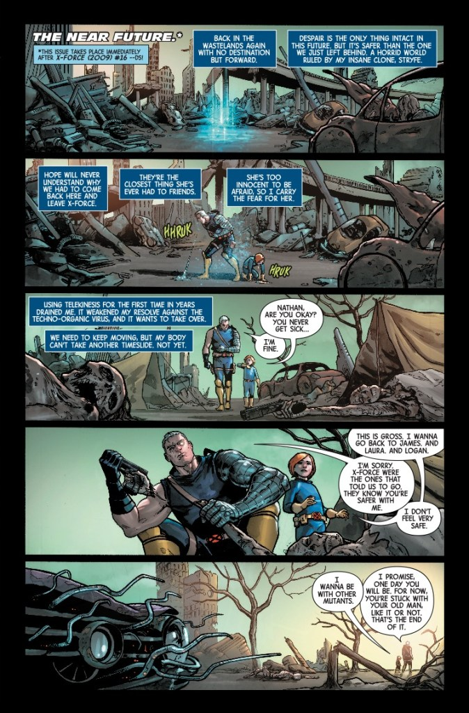 Marvel Preview: Cable #156