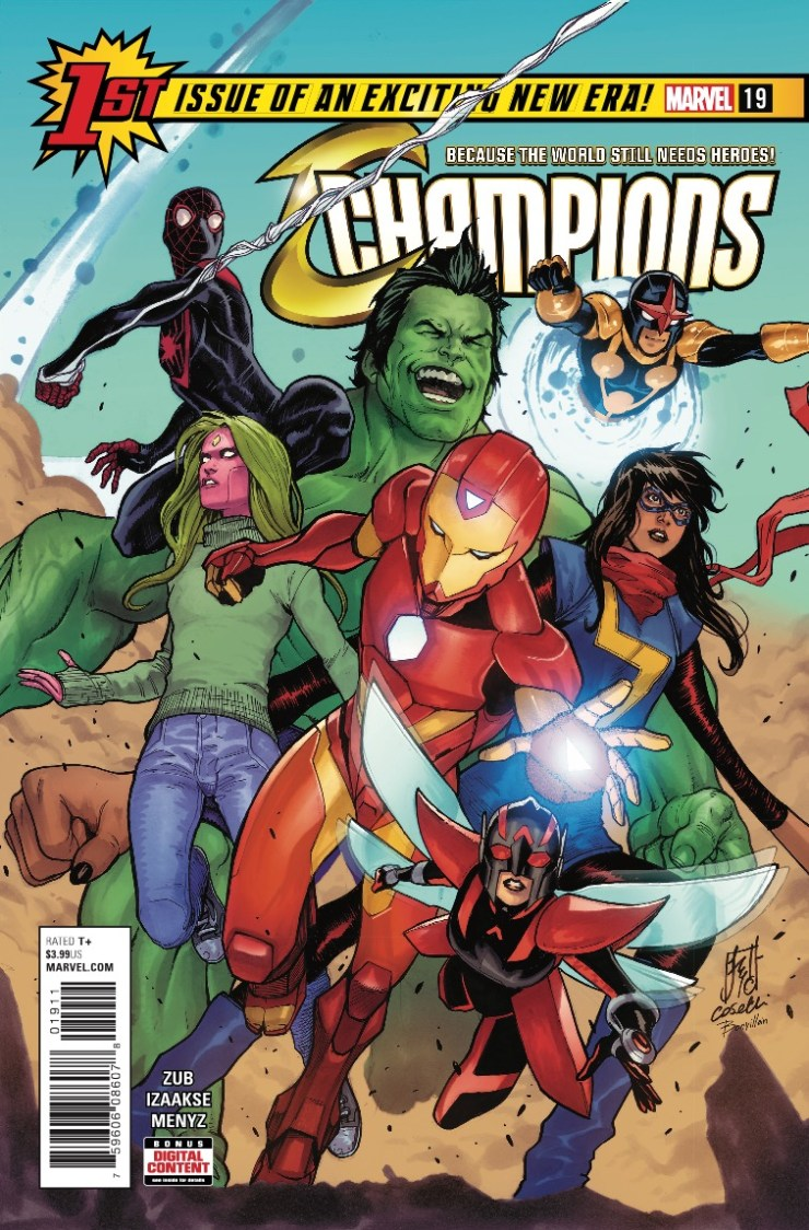 Marvel Preview: Champions #19
