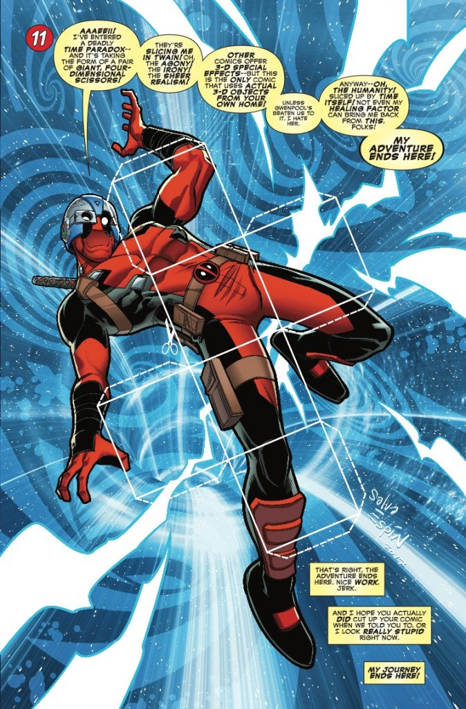 Marvel Preview: You Are Deadpool #1