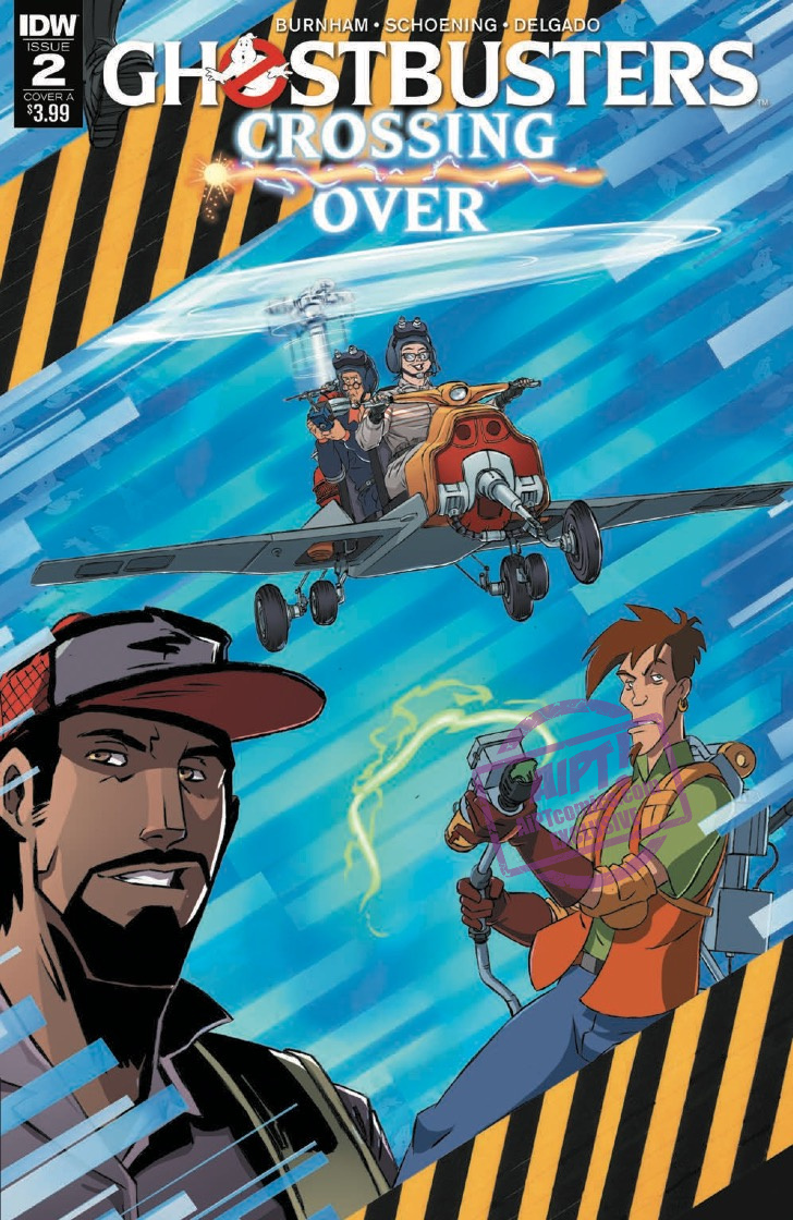 [EXCLUSIVE] IDW Preview: Ghostbusters: Crossing Over #2