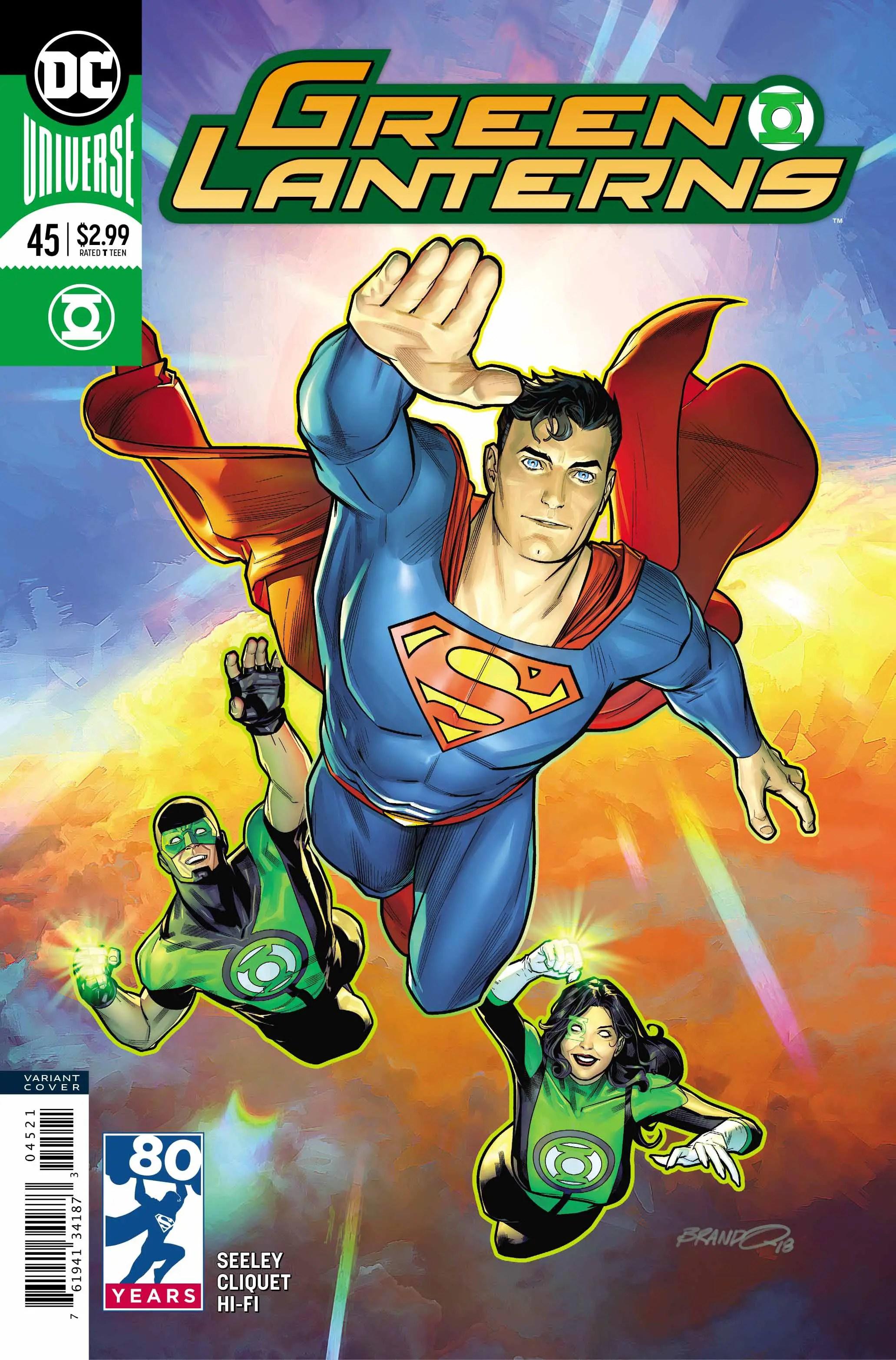 Green Lanterns #45 review: Adding depth to both villain and hero