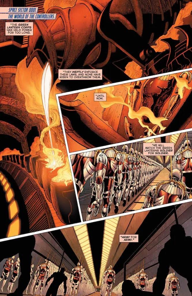 Robert Venditti talks Darkstars, post Green Lantern projects & more