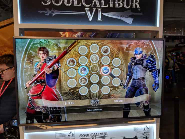 PAX East 2018 - Hands on with SoulCalibur VI