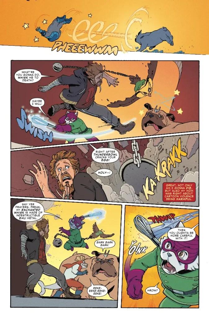 Marvel Preview: Lockjaw #3