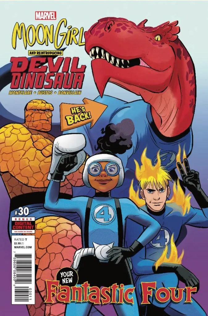 Marvel Preview: Moon Girl and Devil Dinosaur #30