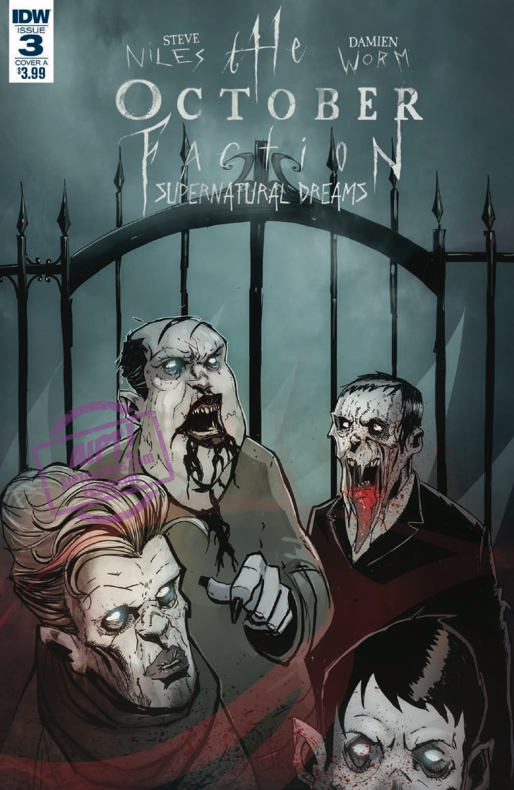[EXCLUSIVE] IDW Preview: The October Faction: Supernatural Dreams #3