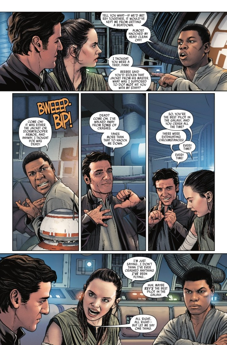 Marvel Preview: Star Wars: Poe Dameron #26