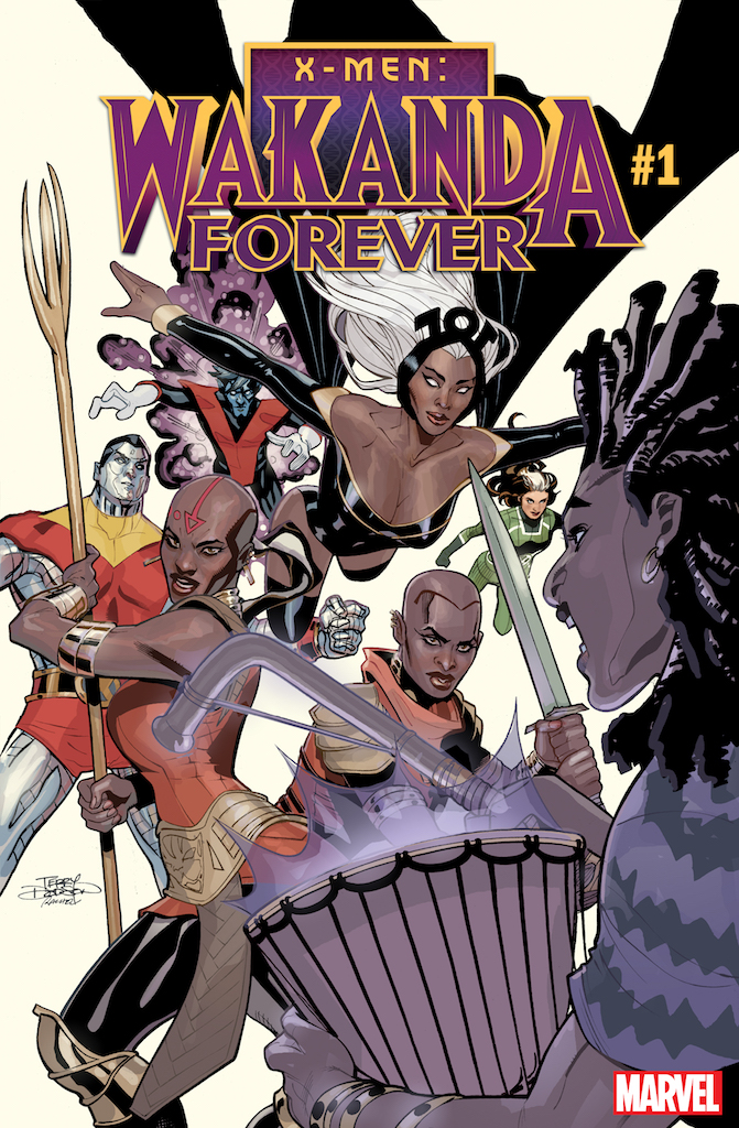 Dora Milaje meets more Marvel characters in X-Men: Wakanda Forever #1 in July