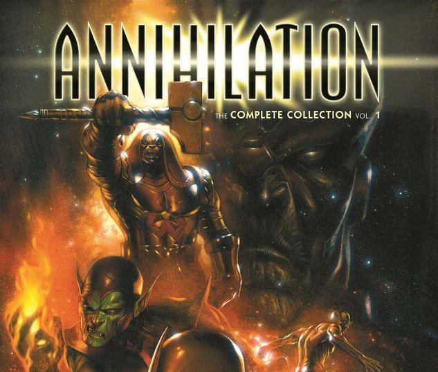 Annihilation: The Complete Collection Vol. 1: A classic crossover returns