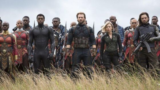 Avengers: Infinity War score revealed on Rotten Tomatoes