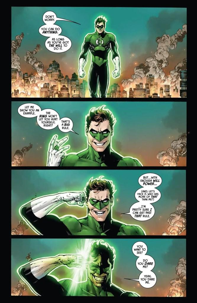 Batman #45 review: a Batman that's not Bruce Wayne and 'Booster Gold, not Green Lantern'