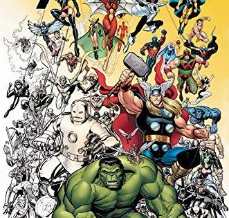 Color Your Own Avengers: An idea to bring together a remarkable group of coloring pages