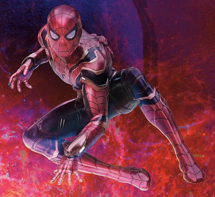 Chinese 'Avengers: Infinity War' cinema poster gives us most detailed look yet at Iron Spider suit