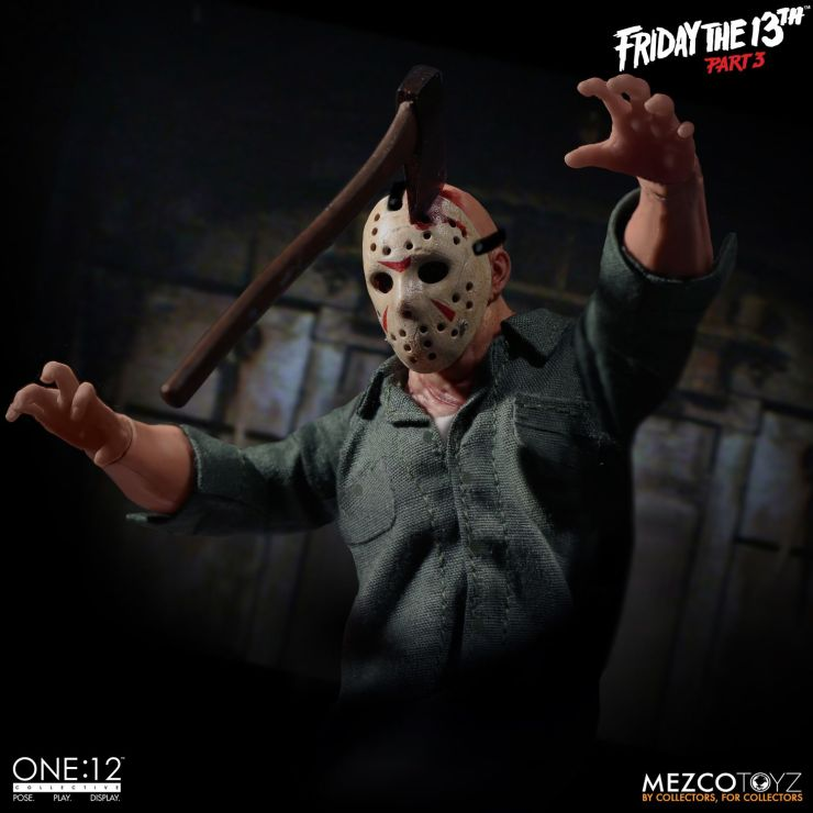 One: 12 Collective Friday the 13th Part 3 Jason Voorhees Figure From Mezco