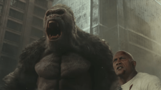 Review of Rampage: a 2018 American science fiction monster film directed by Brad Peyton, loosely based on the video game series of the same name by Midway Games.