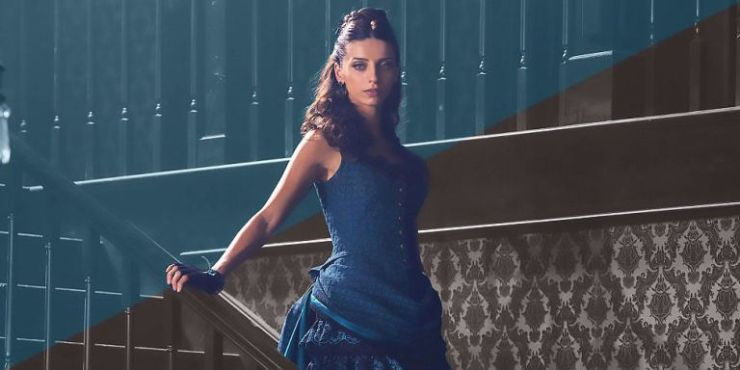 "Angela Sarafyan on her ""different kind of journey"" in season two of Westworld"