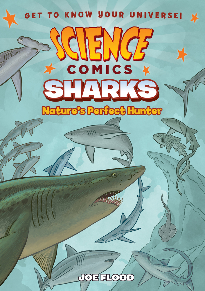 Science Comics Sharks: Nature's Perfect Hunter review