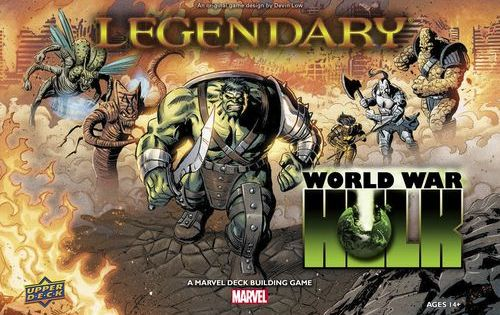 Marvel Legendary:  World War Hulk is in stores -- the final Heroes revealed