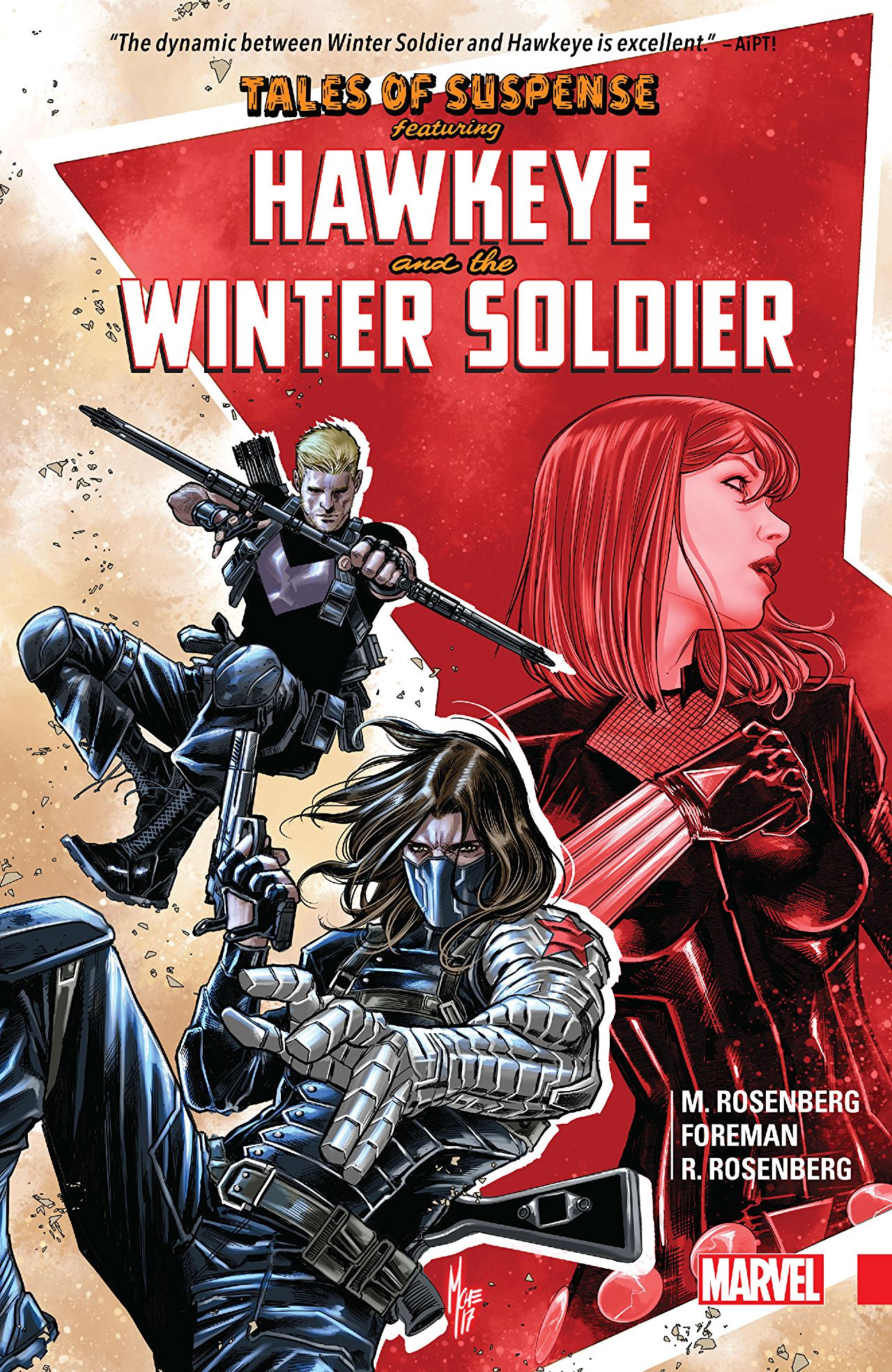 'Tales of Suspense: Hawkeye & The Winter Soldier' review: Kevin Feige, read this book!
