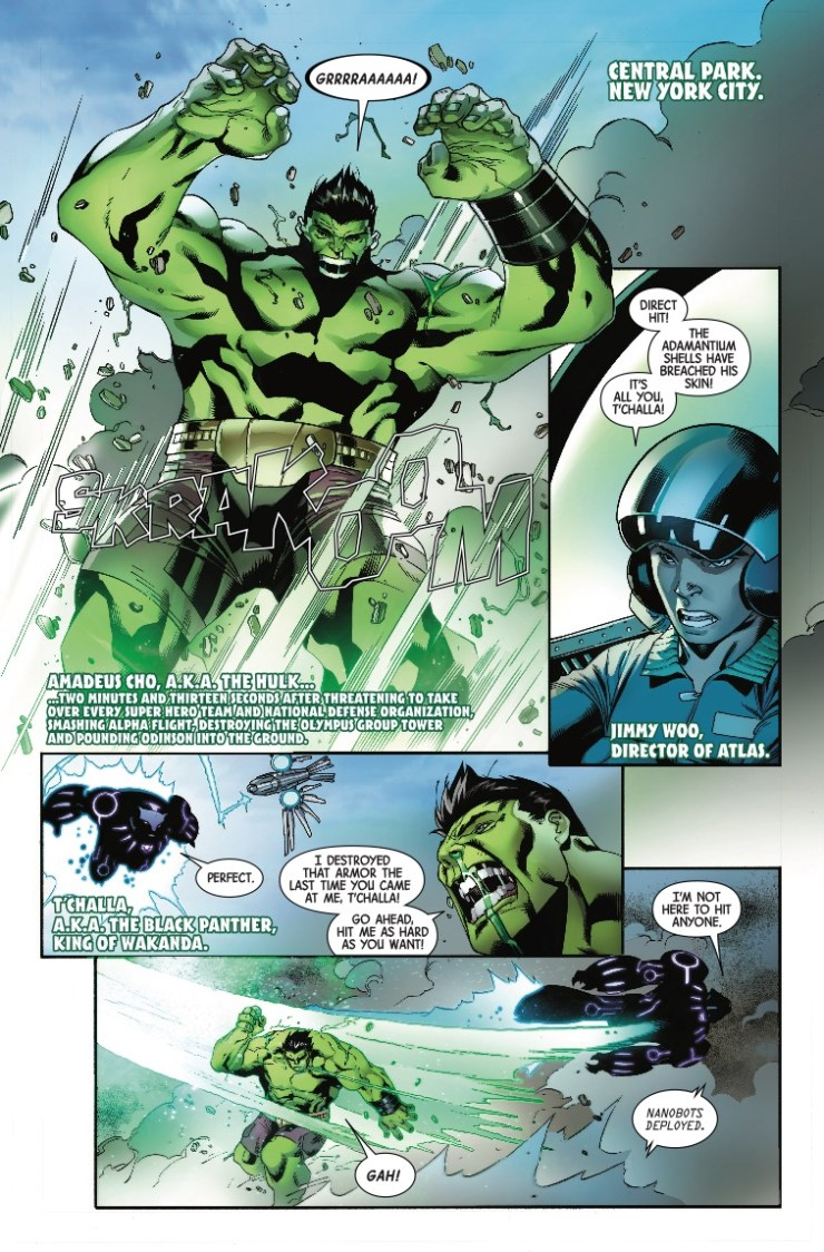 Marvel Preview: Incredible Hulk #717