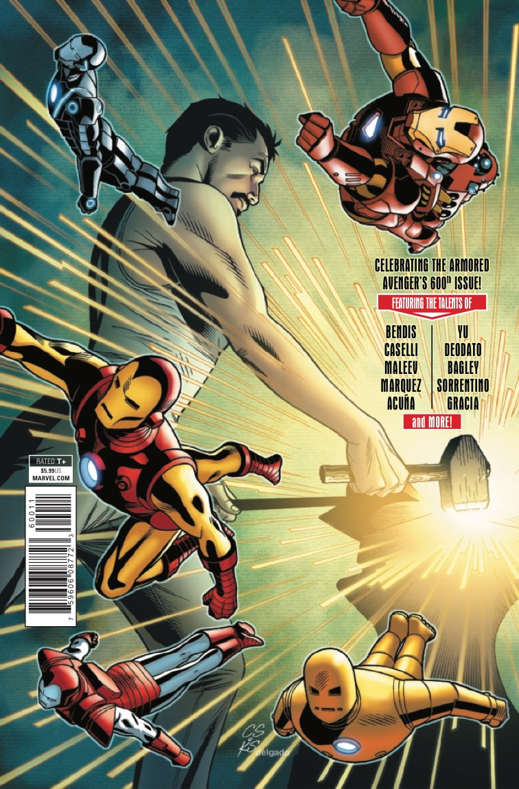 Invincible Iron Man #600 review: Momentous in every way