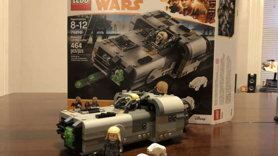 LEGO's latest set comes from 'Solo: A Star Wars Story.'