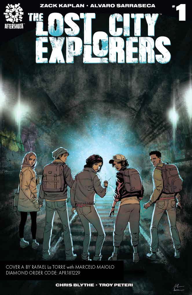 Go deeper with Zack Kaplan into new AfterShock series 'Lost City Explorers'