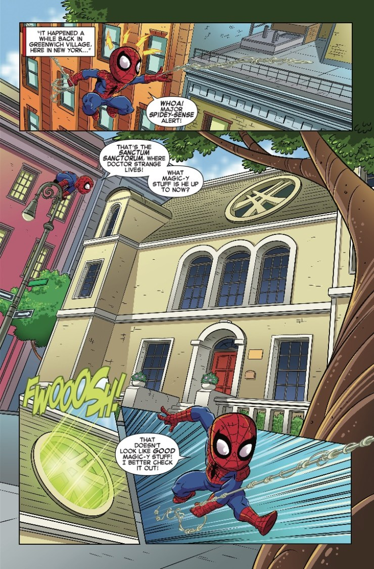 Marvel Preview: Marvel Super Hero Adventures: The Spider-Doctor #1