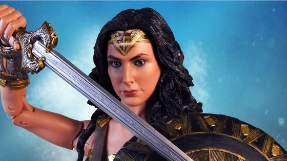 NECA has released new pictures of their upcoming Wonder Woman (2017) 1/4 scale action figure.