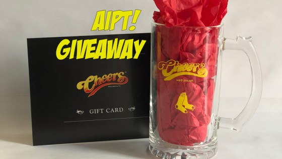 Win the best gift for any Red Sox and Cheers fan.