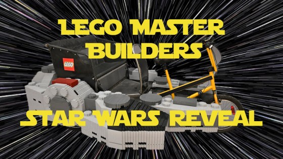 Watch a speedbuild of a one of a kind Star Wars LEGO vehicle that actually works!