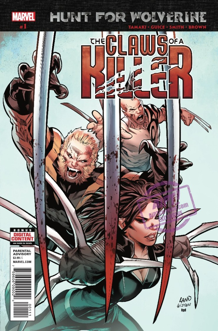 [EXCLUSIVE] Marvel Preview: Hunt For Wolverine: Claws Of A Killer #1