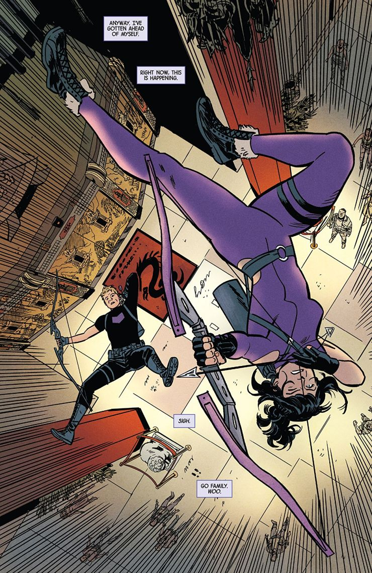 'Hawkeye: Kate Bishop Vol. 3: Family Reunion' review: Raises the bar of how fun superheroes can be