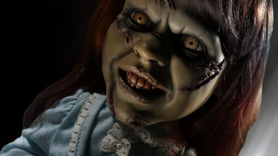 Mezco is releasing a Mega Scale Regan from the movie The Exorcist, complete with sound.