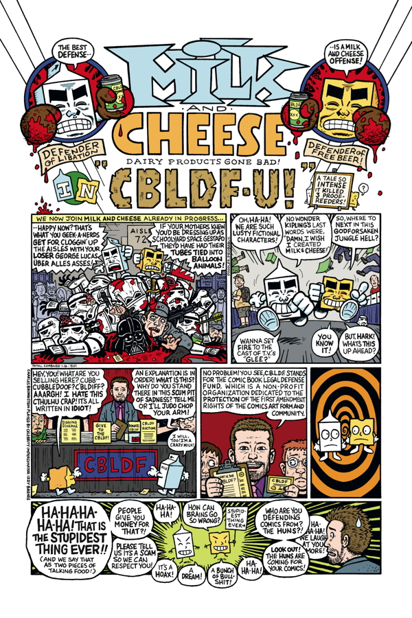 'Milk and Cheese: Dairy Products Gone Bad' paperback review