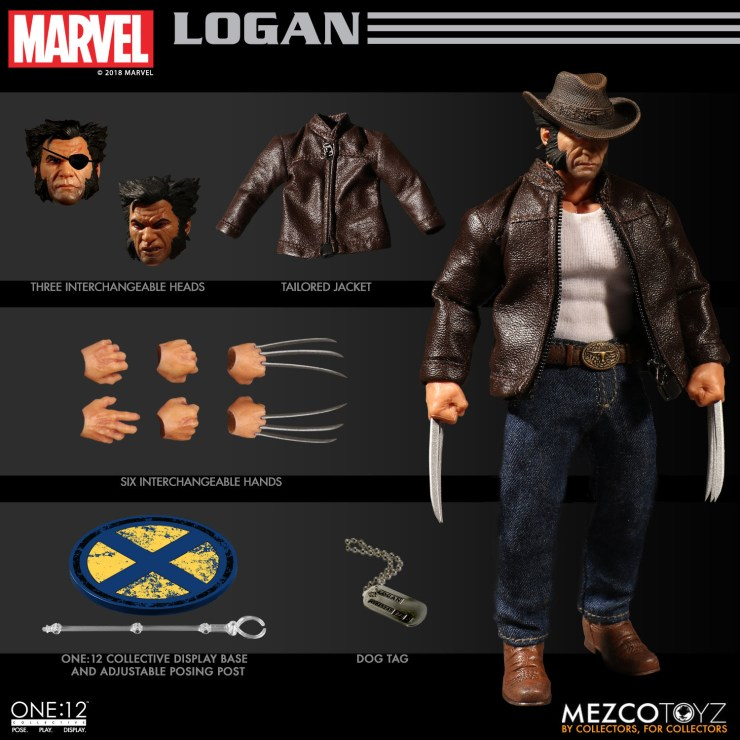 The One:12 Collective Logan Figure From Mezco