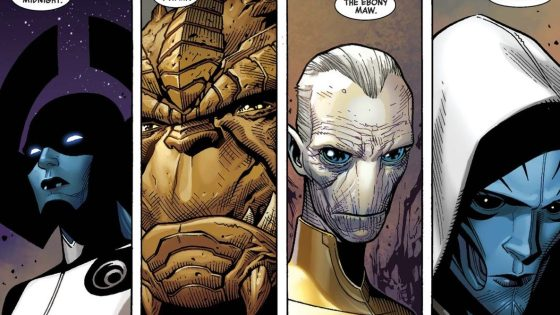 Supergiant and Black Dwarf -- the forgotten and renamed of Thanos' Black Order