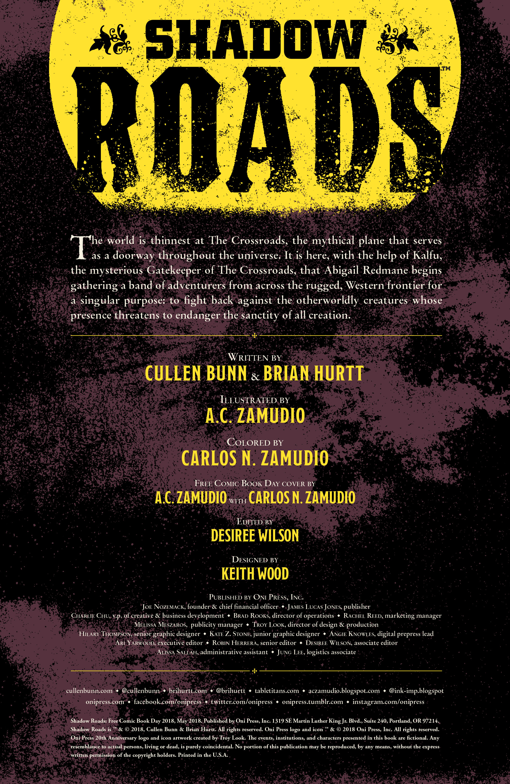 Shadow Roads #1 review: A solid, 19th century soaked debut