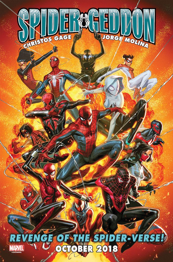 The revenge of the Spider-Verse!