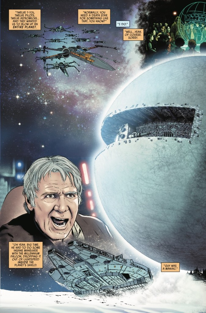 Marvel Preview: Star Wars: Poe Dameron #28
