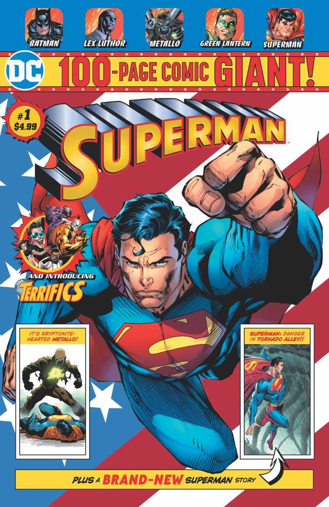 Exclusive 100-page DC Comics to be sold monthly at Walmart this summer