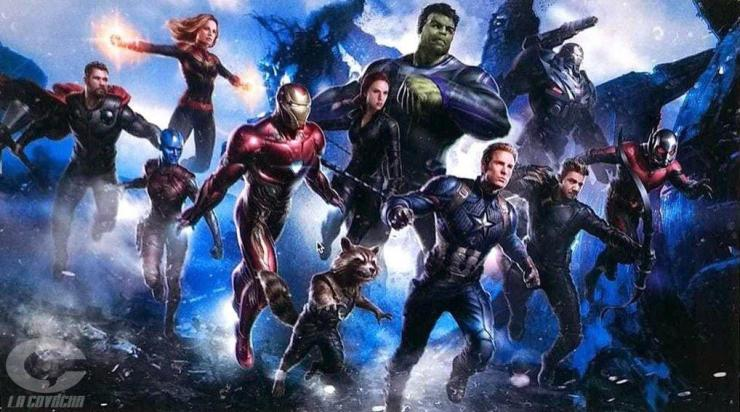 Leaked 'Avengers 4' promotional art reveals potential character changes