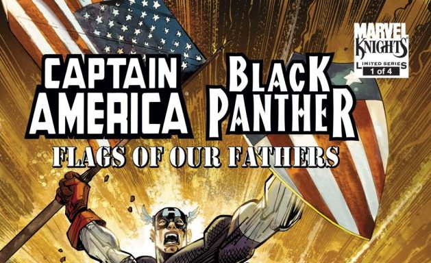 'Captain America/Black Panther: Flags of Our Fathers' review: An interesting concept in a forgettable story